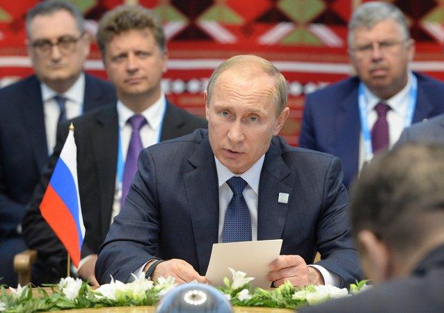 普京:俄罗斯希望加深与伙伴国的人文合作