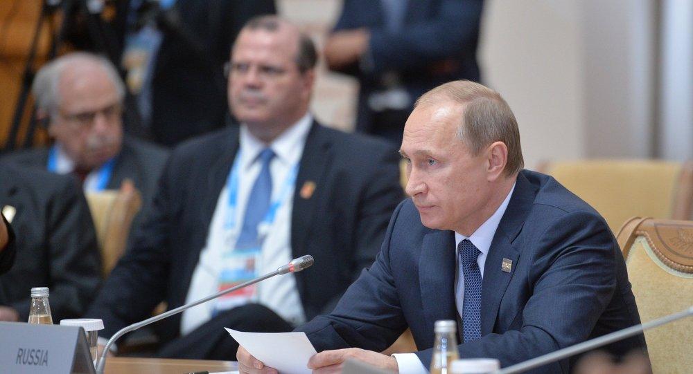 普京:金砖国家、上合组织、欧亚经济联盟国家具备经济腾飞的所有条件