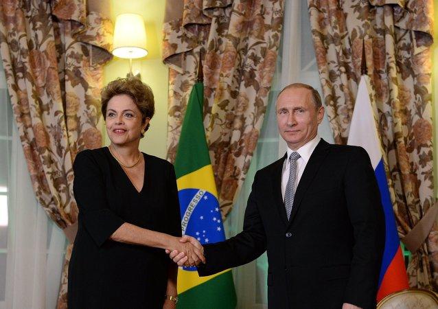 巴西总统:俄罗斯可在制裁问题上期望巴西的帮助