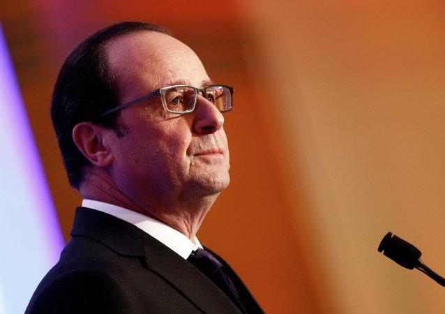 法国总统有意就实现叙利亚停火与普京进行讨论