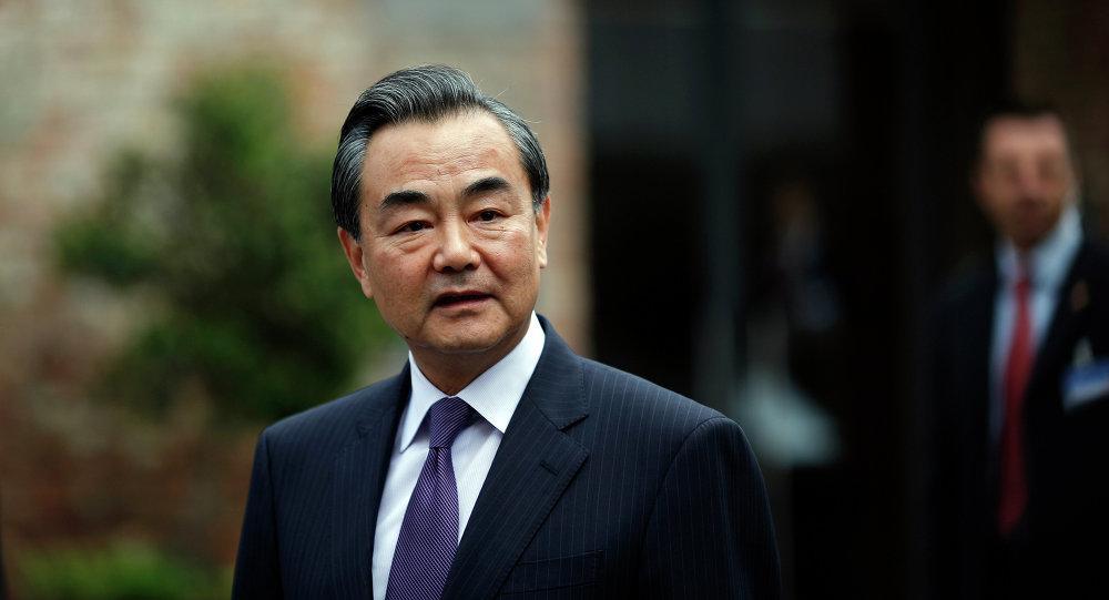 """中国外长:""""一带一路""""为亚欧大陆发展提供巨大动力"""