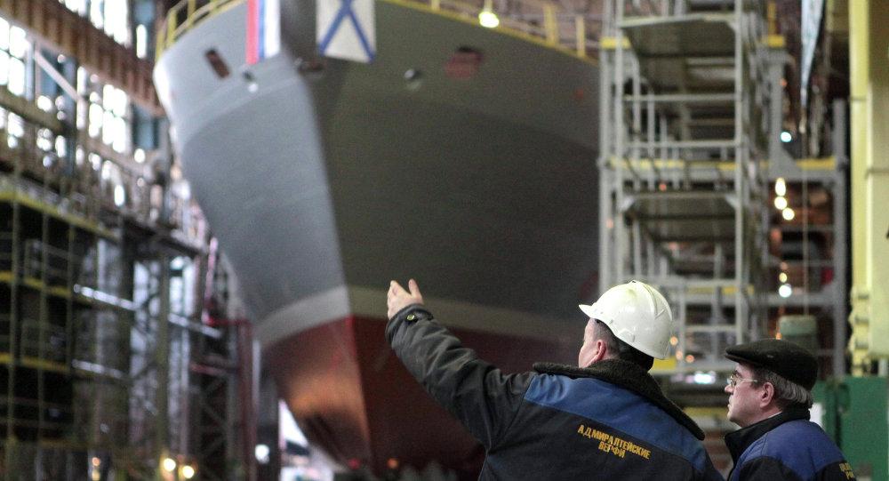 媒体:印度对俄罗斯新式21300型救援舰感兴趣
