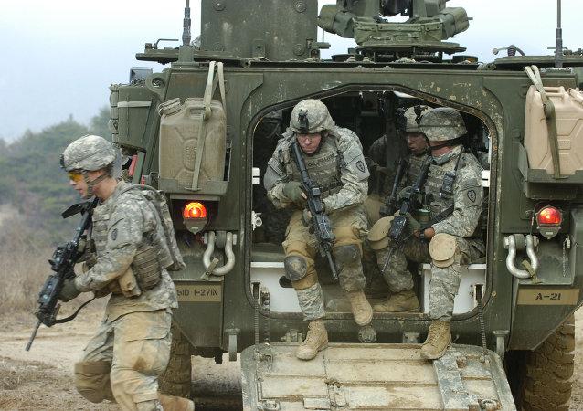 加拿大和美国军人本周将访问乌克兰筹备演习