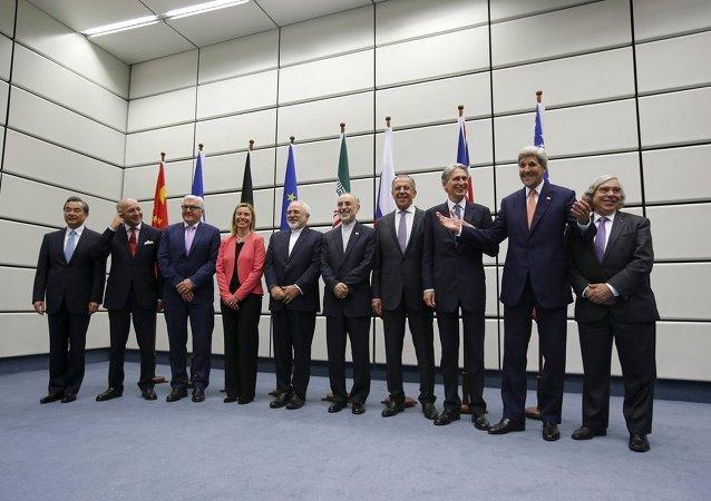 """伊朗和""""六方""""达成伊核协议"""