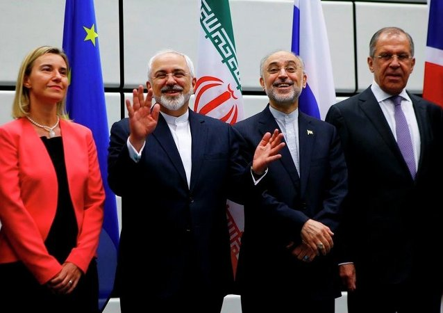 """伊朗与""""六方""""历经10年谈判达成历史性协议"""