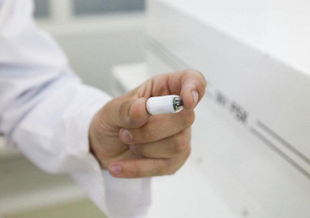 乌拉尔开始生产智能型医用胶囊