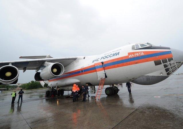 俄罗斯紧急情况部的飞机