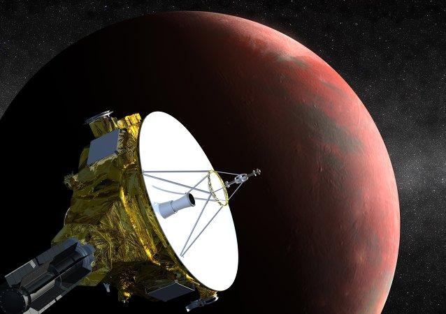 "NASA:""新视野""号探测器接近冥王星  向地球传回首个信号"