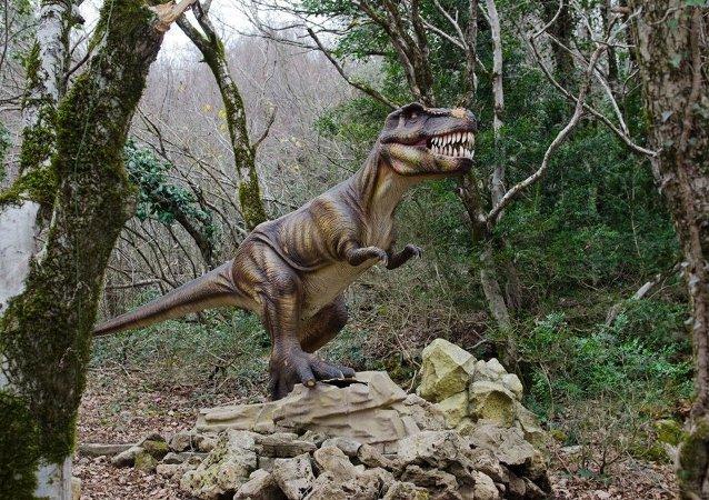 科学家模拟导致恐龙灭绝的大海啸