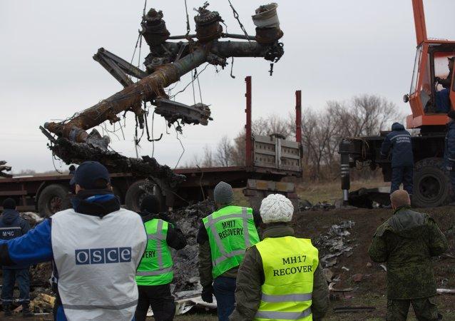 马来西亚交通部认为目前对马航MH17空难原因下结论尚早