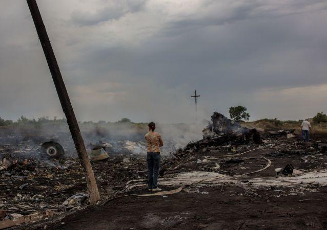 马航MH17空难纪念活动(资料)