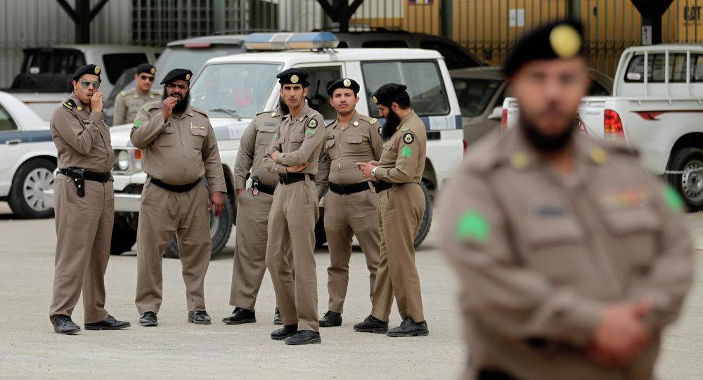 沙特执法人员