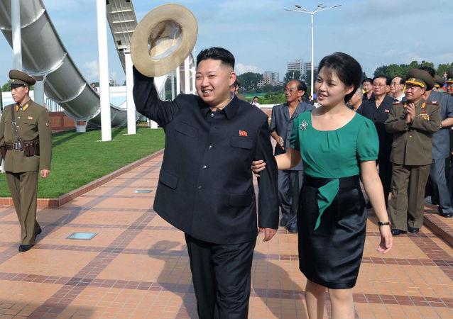 韩情报部门:朝鲜领导人金正恩之妻已产第三子