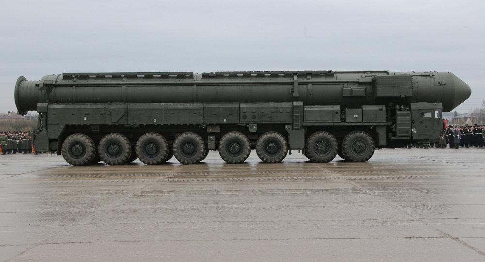 白杨-M导弹系统