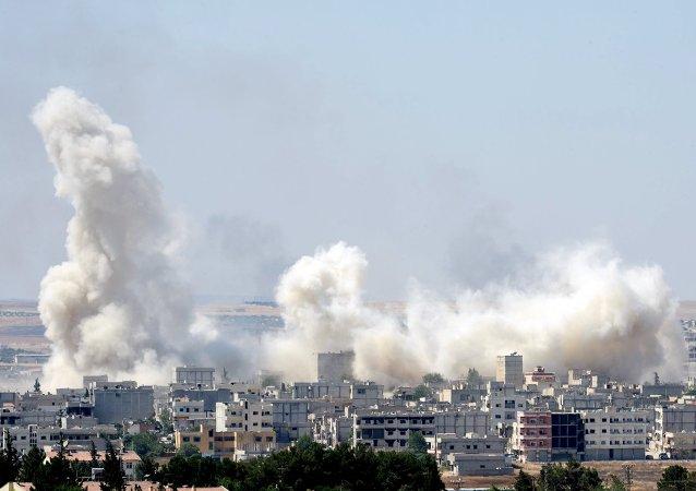 """俄国防部:""""胜利阵线""""炮击叙利亚五省民用设施"""
