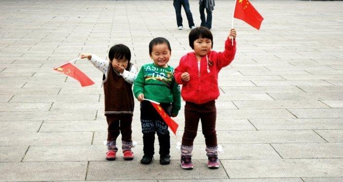 中国孩子们