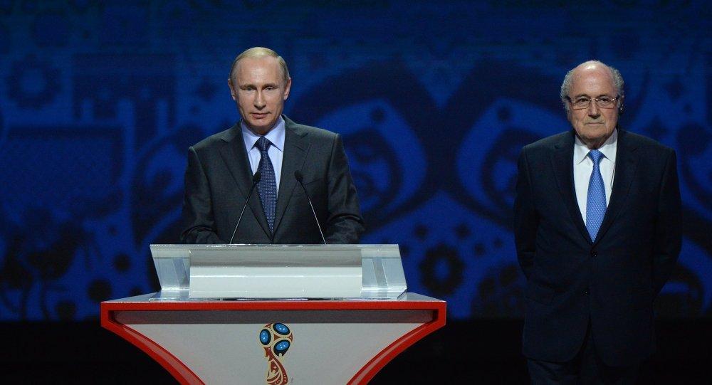 普京:筹备2018年世界杯足球赛的所有计划都将完成