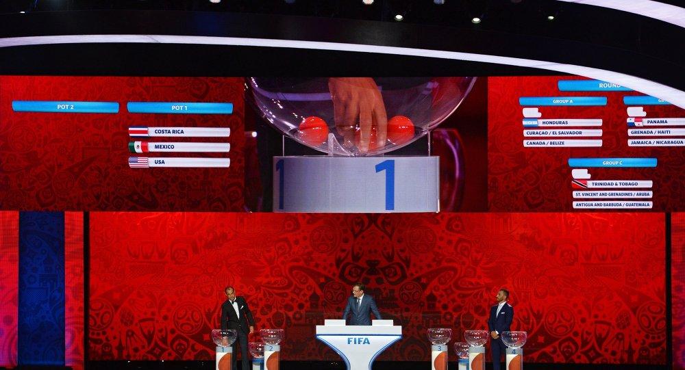 俄国家队与比利时队和希腊队一同进入2018年世界杯H组