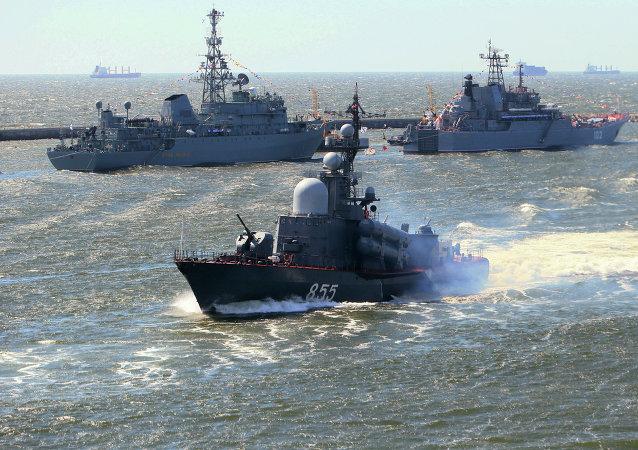新版海洋学说:俄罗斯海军将与中国和印度开展紧密合作