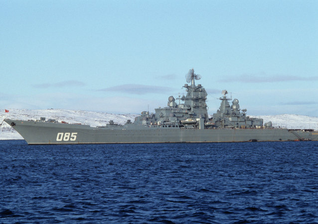 """""""纳希莫夫海军上将""""重型核动力巡洋舰"""