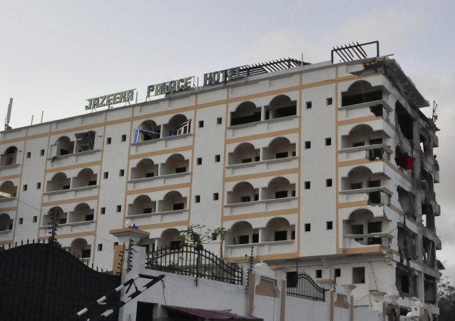 中国外交人员在索马里爆炸中受重伤