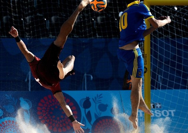 俄建议举办金砖及上合青年沙滩运动会