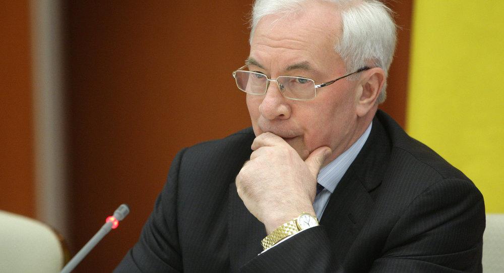 乌克兰前总理不排除建立流亡政府的可能性