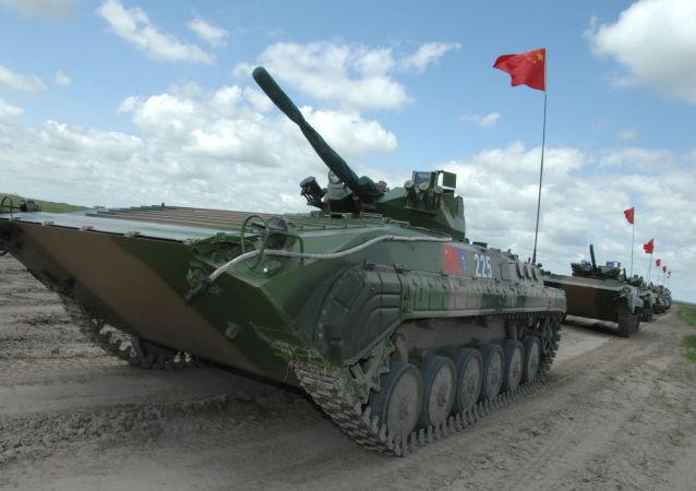 中国开始大规模军事演习