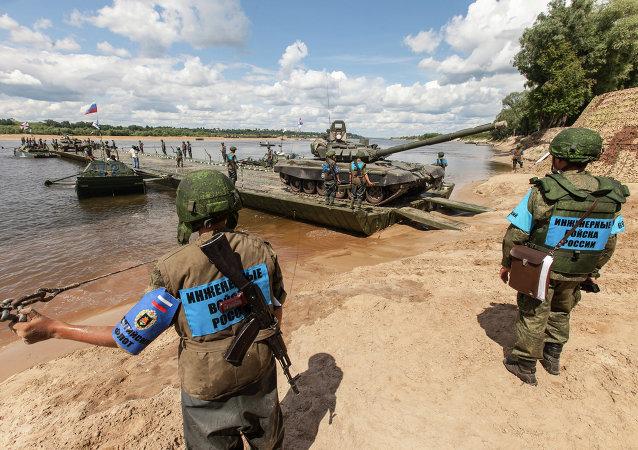"""国际军事竞赛""""公开水域""""正在穆罗姆举行"""