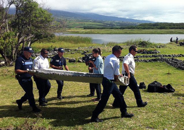 印度洋法属留尼汪岛发现疑似MH370飞机残骸/资料图片/