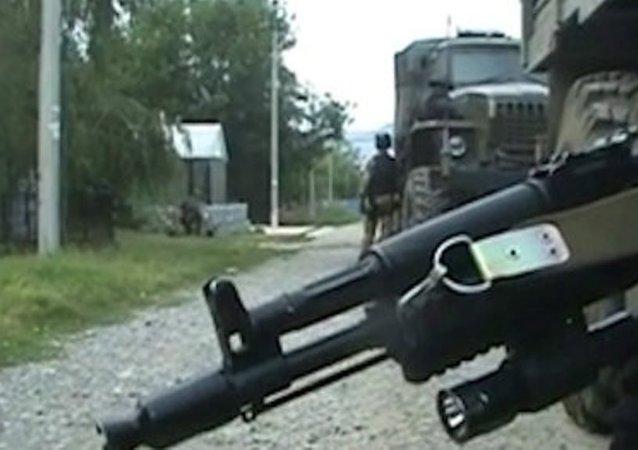 在印古什消灭8名伊斯兰国武装分子组成的团伙