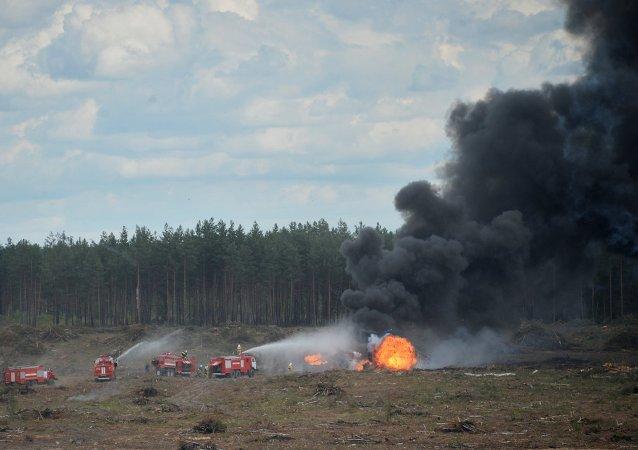 梁赞附近坠毁的米-28直升机飞行员试图挽救飞机直到最后一刻