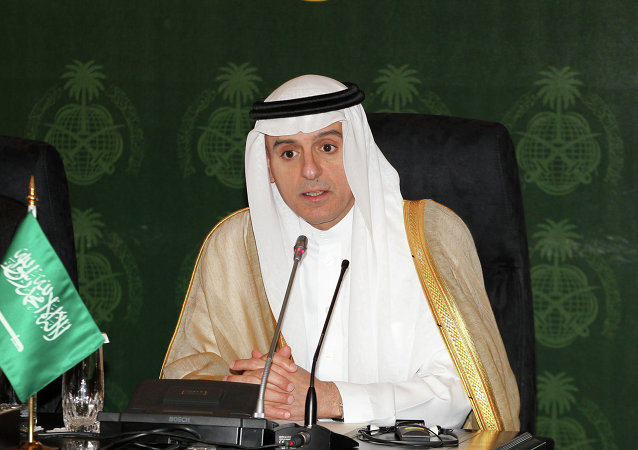 沙特外交大臣阿德尔•朱拜尔