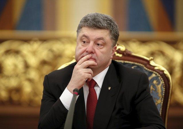 美副总统向波罗申科指出履行明斯克协议必要性