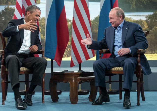 普京称与奥巴马互相以名相称