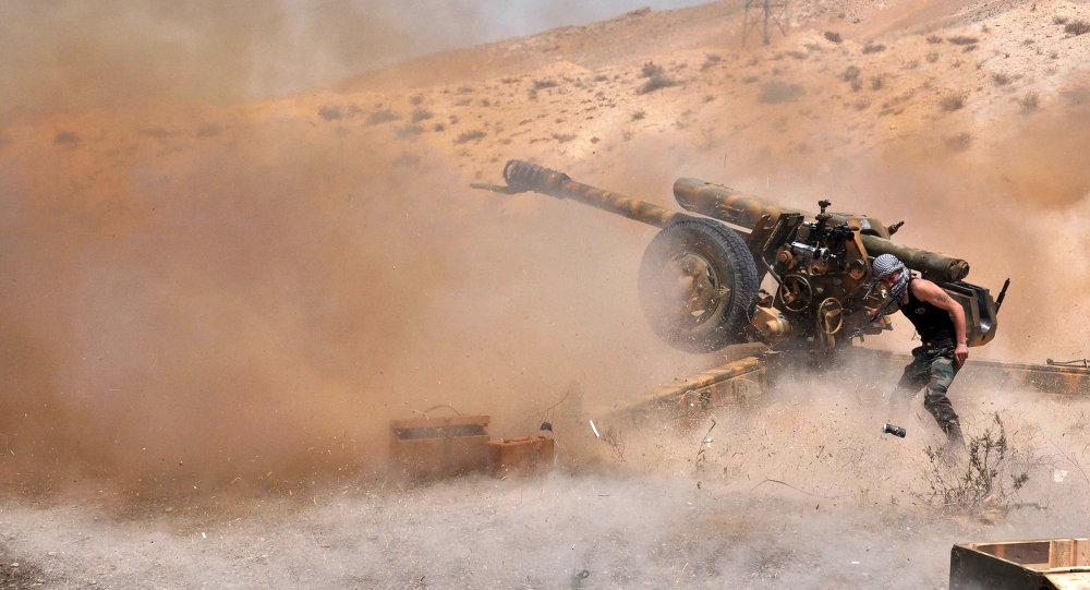 """消息人士:叙利亚军队已切断""""伊斯兰国""""从巴卜撤退的最后道路"""