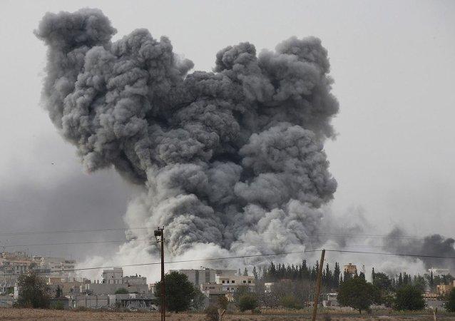 美国防部:美国在叙利亚对计划在西方国家实施恐怖袭击的恐怖分子进行打击