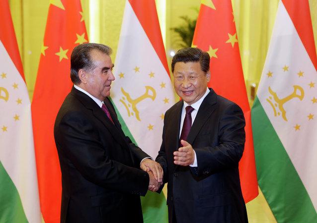 塔吉克斯坦和中国领导人讨论安全领域合作问题