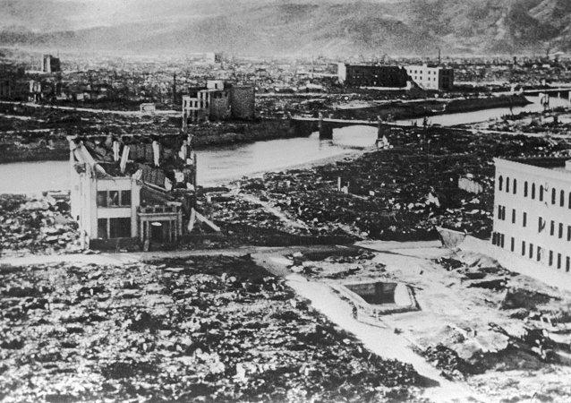 广岛原子弹爆炸 1945年8月6日