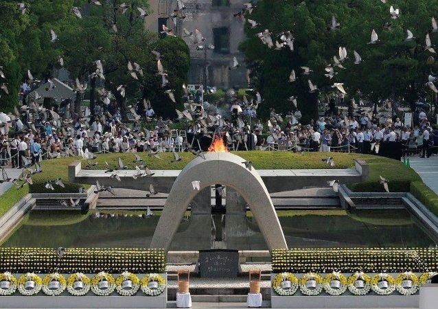 俄杜马主席向日本首相转交广岛和长崎被炸后拍摄的纪录片