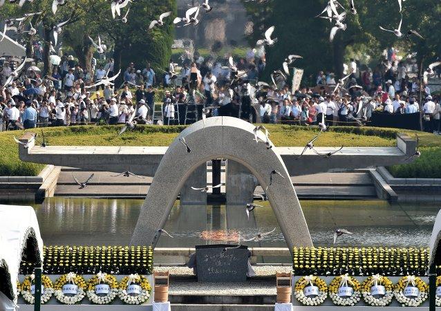 广岛原子弹爆炸的见证者
