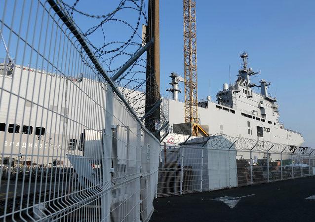 """法国国民议会开始审议有关""""西北风""""航母的法案"""