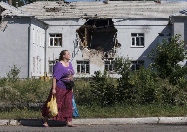 卢甘斯克人民共和国称遭到乌军迫击炮攻击