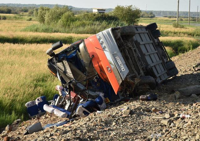 俄哈巴卫生部:哈巴罗夫斯克交通事故遇难者中有一名中国儿童