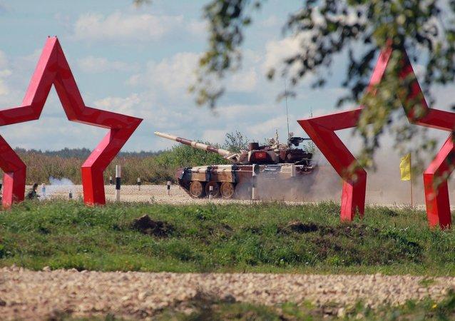 俄国际军事比赛