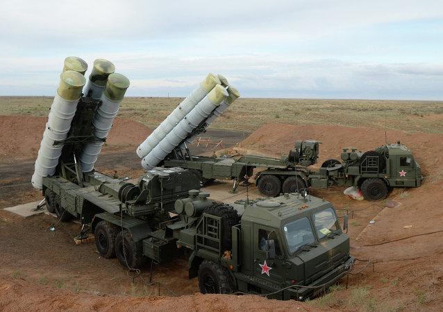 S-400地空导弹系统在堪察加投入战斗值勤