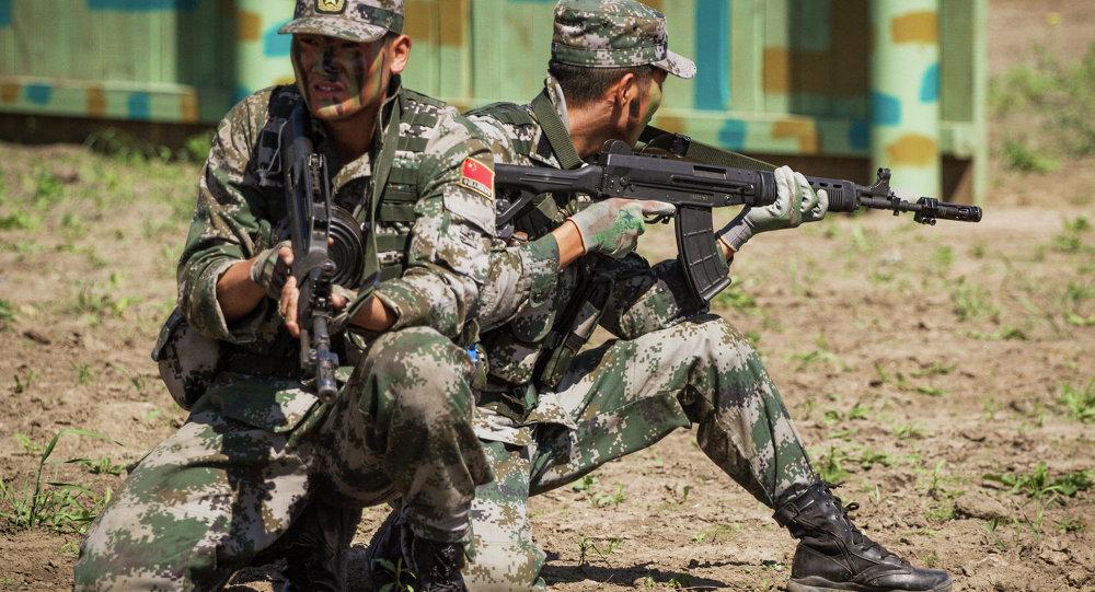俄200多名偵察兵在亞美尼亞山區學習刀術