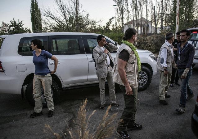 联合国专家结束在叙利亚的化武核查工作/资料图片/
