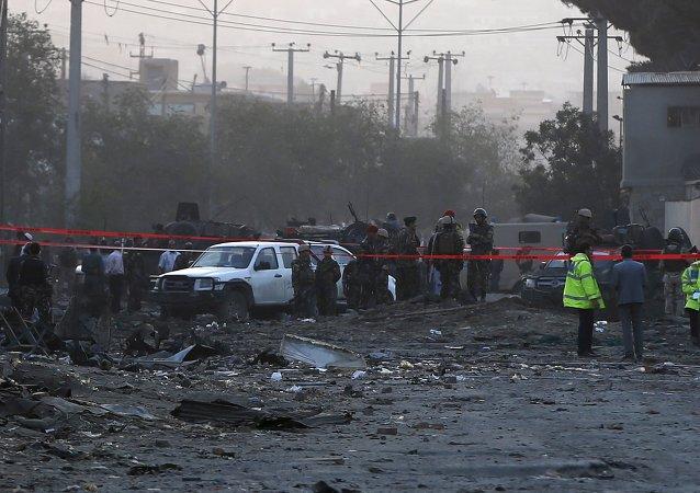 媒体:在喀布尔的使馆区发生了数起爆炸
