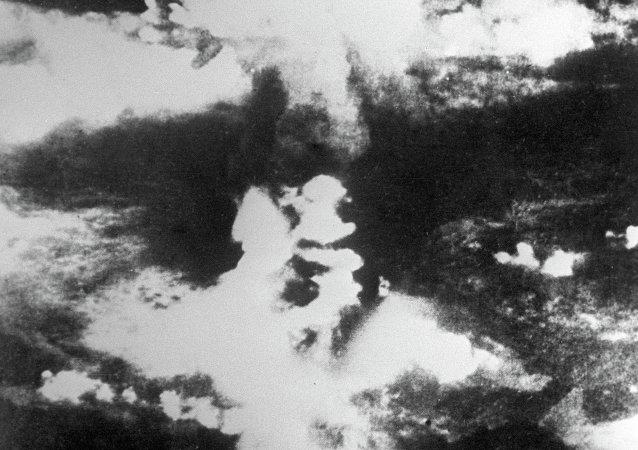 日本廣島原子彈爆炸